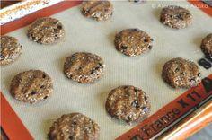 Protein Packed Monster Breakfast Cookies (grain, egg & nut free) http://www.lillianstestkitchen.com/episodes/cooking-episodes/breakfast/carrot-orange-spice-cupcakes-coconut-orange-buttercream-frosting-paleo-gaps-giveaway/