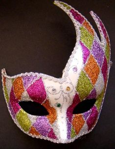 ALGO MAS: Máscaras Venecianas y antifaces decorativos | Cicloturismo y Turismo en México por Estado