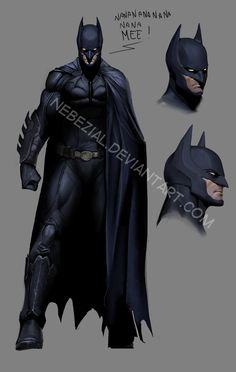 I say suit because Bale's Batman has been defined by his armor, and restricted in fighting because of the costume. I think Batman needs to be light. Batman Robin, Im Batman, Batman Arkham, Batman Art, Batman The Dark Knight, Gotham City, Comic Books Art, Comic Art, Illustration Batman