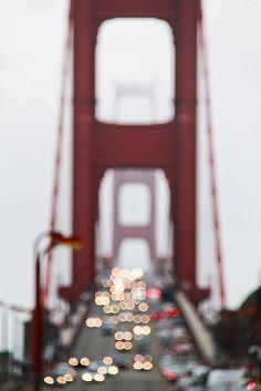 Golden Gate Bridge Bokeh