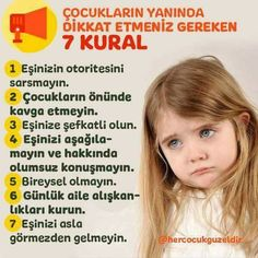 This Pin was discovered by ayş Kids Education, Special Education, Children And Family, Childcare, Cool Words, Preschool, Health Fitness, Parenting, Literature