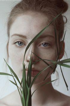Portraits of Kristine by Marta Bevacqua