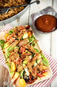 Pulled Pork Salad #Paleo