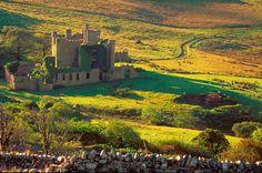 Clifden Castle, Connemara, Ireland