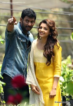 Kajal-Agarwal-in-yellow-churidar-august-2015-stills-(1)