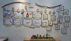 동부유치원 동화가 있는숲속이야기 - 경산뉴스 Outdoor Classroom, Reggio Emilia, Deco, Kids And Parenting, Preschool, Kindergartens, Gallery Wall, Practical Life, Display