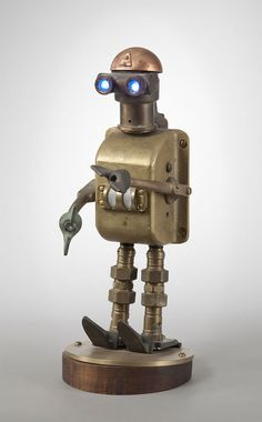 12105 Talbotics: Original Robot Sculptures Made from Found Objects. More @ source