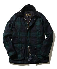 """BEAMS Fの【予約】Barbour / """"BEDALE SL""""ブラックウォッチ"""