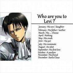 An idiot.. Okay... That's means I'm a girl version of Eren, right?