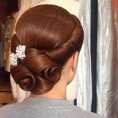 Impressive Bridal Hairstyles by Danthep, Thailand! Impressive Bridal Hairstyles by Danthep, Thailand! Dance Hairstyles, Retro Hairstyles, Braided Hairstyles, Wedding Hairstyles, Updo Hairstyle, Wedding Updo, Quinceanera Hairstyles, Hair Up Styles, Natural Hair Styles