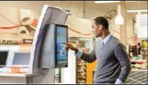 Office Depot Self-Service unit Self Service, Office Depot, Kiosk, Walmart, Retail, The Unit, Gazebo, Shops, Retail Merchandising