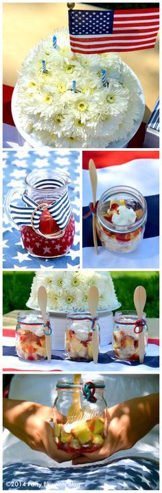 Fourth of July Party Tips and Recipes with America's Original Superfruit #UScranberries #plantoparty