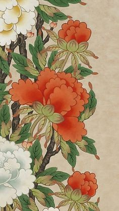 I simply appreciate the colours, lines, and depth. This is definitely an exceptional tattoo design if you are looking for a Teapot Tattoo, Watercolor Art, Asian Art, Painting Illustration, Drawings, Bird Art Print, Flower Drawing, Plant Art, Korean Painting