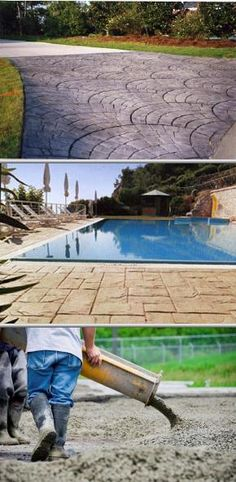 Lacaria Concrete Construction provides commercial and residential stamped concrete work for all kinds of projects. They also offer waterproofing, pool deck construction, sidewalk setup, and more.