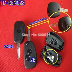 Find More Alarm Systems & Security Information about New ARRIVAL TD REN028 High Qaulity modified key shell for renault 2 button VAc102 key balde,High Quality Alarm Systems & Security from Taizhou Luqiao Tongda Lock Service Shop on Aliexpress.com