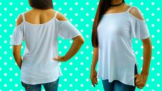 TUTORIAL: Cómo hacer una blusa a la moda con solo medio metro de tela!