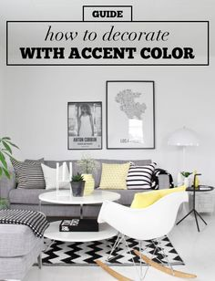 How To Decorate With Accent Color