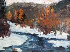 """Winter Glow"" by Kit Hevron Mahoney"