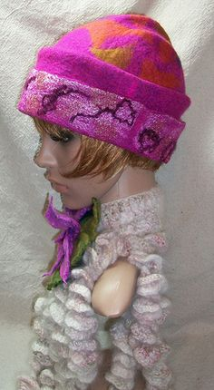 Felt Hat by Suzanne Higgs  #fashionable #Hat
