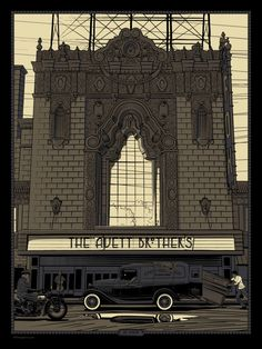 The Avett Brothers - St. Louis, MO Gig Poster - by Charles Crisler / 27designco.com