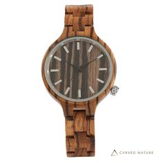 Buy Online Minimalist Wood Watch High quality wooden watches hand-crafted from real natural Bamboo, Maple, Zebra, Ebony wood. Wooden Watches For Men, Cool Watches, Sport Watches, Dark Wood, Retro, Wood Watch, Earthy, Bracelet Watch