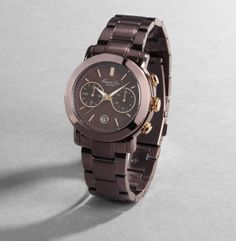kenneth cole women's watch #KC4802- LOVE the dark bronze color!!! This is on the top of my want list!!