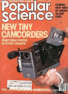 Popular Science Video issue. Lol this was considered tiny back in the day.