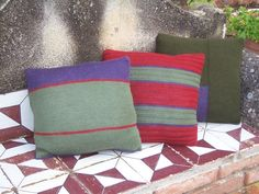 PRIZZI knitting pattern for 3 lovely cushions or by domoras