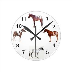 Appalasooa Horse. Wall Clocks