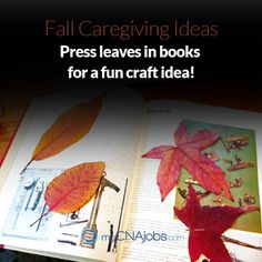 Fall caregiver ideas!
