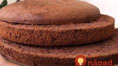 Zaručene vydarený kakaový korpus na tortu: Dokonalý a zvládne ho aj začiatočník – netreba naň dávať ani krém! Cookies, Food, Basket, Mascarpone, Crack Crackers, Eten, Cookie Recipes, Meals, Biscotti