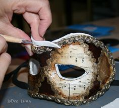 How to Make a Masquerade Mask Part I | JoDee Luna's Blog