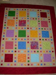 Looking for quilting project inspiration? Check out Film strip quilt by member Creames. - via @Craftsy