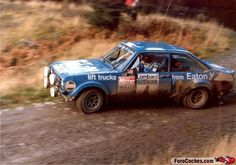 1979 LOMBARD RAC RALLY -Ford Escort RS1800. Entrant: Ford Motor Co. Drivers: Hannu Mikkola / Arne Hertz. Placed: 1st o/a.