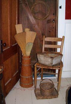 Sheepscot River Primitives - broom collection