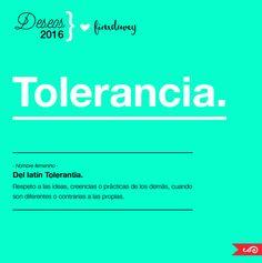 FinxDuvey quotes: Tolerancia