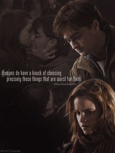 Aw I love this. Harry/Hermione.