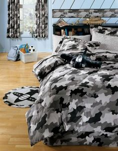jcp | Cadet Camo Complete Bedding Set with Sheets Collection