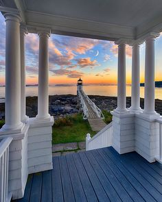 "Ryan Zipp | New Englander on Instagram: """"Magical Maine"" Marshall Point Light Station was established in 1832 to assist boats entering and leaving Port Clyde Harbor. The present…"""