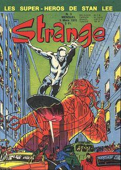 Strange 3 des éditions Lug