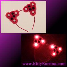 #LUVIT  A Kitty Katrina Red Daisy and LED #CatEarHeadband is going out to a LUVly #FlowerChild  Get your LED #CatEars at www.KittyKatrina.com in our LED Crowns / Headbands Section  #kittyears #ledflowercrown #flowerheadband #flowercrown #flowerhalo #floralhalo #flowerchildren #rave #raveoutfit #raver #ravegirls #festival #festivalfashion #festivallife #edmgirls #edmfashion #electricdaisycarnival #edc #nocturnalwonderland #beyondwonderland #edclv #edclasvegas #edcny #edcgear #edcorlando