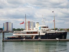 M/Y Bystander, support vessel to J Class Yacht JK7 Velsheda.