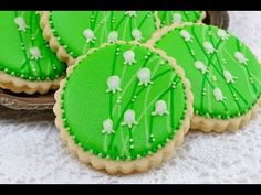 Lily of the Valley Cookies  http://www.youtube.com/watch?v=RBV_8GU0p6k