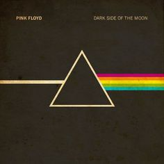 Pink Floyd cover album art employing this multi-coloured stripe pattern that is utilised in other designs such as fashion. A more contemporary, minimalist approach to the inspiration from the Iconic Album Covers, Rock Album Covers, Music Album Covers, Classic Album Covers, The Who Album Covers, Pink Floyd Dark Side, Conception Album, Cover Art, Lp Cover