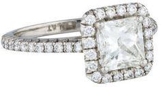 Diamond Halo Engagement Ring  https://api.shopstyle.com/action/apiVisitRetailer?id=487800145&pid=uid2500-37484350-28