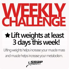 Take the weekly challenge!
