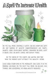 Wicca for beginners Jar Spells, Magick Spells, Wicca Witchcraft, Green Witchcraft, Hoodoo Spells, Healing Spells, Magick Book, Luck Spells, Candle Spells