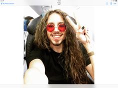 Michal Szpak flying home to Warsaw after his triumph at the Eurovision
