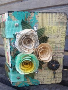 A Piece Of Craft by Marion Smith: Mixed Media Journal