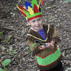 Niño indio. #disfraz #carnaval